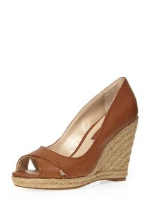 Callie Peep Toe Wedge