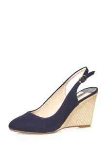 Dorothy Perkins Clara Sling Back Wedge