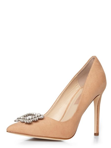 Dorothy Perkins Beth Detailed Courts Shoes