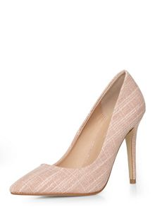 Dorothy Perkins Tweed `Emie` Court Shoes