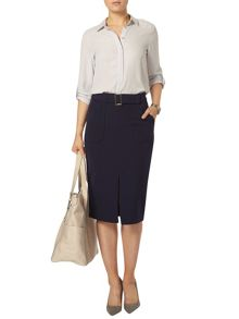 Dorothy Perkins Pocket Pencil Skirt