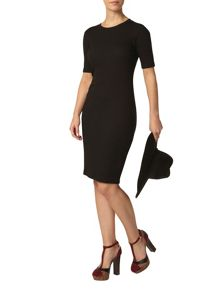 Dorothy Perkins Petite Ribbed Dress