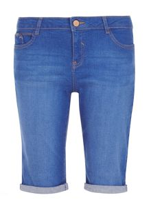 Dorothy Perkins Denim Knee Short