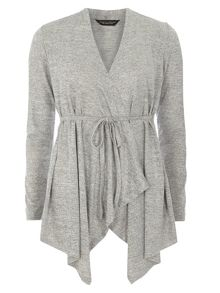 Belt Waterfall Cardigan