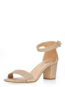 Dorothy Perkins Champagne `Rocco` Sandal.