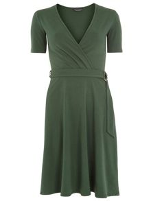 Dorothy Perkins Tall D-Ring Wrap Dress