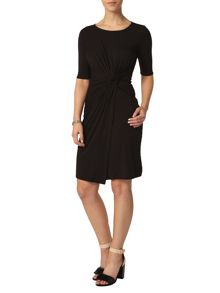 Petite Side Twist Dress