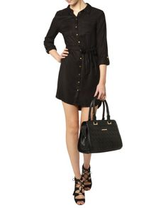 Dorothy Perkins Tall Button Front Shirt Dress