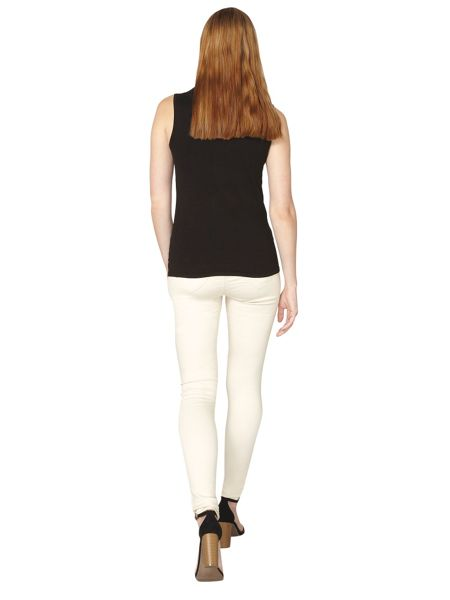 Dorothy Perkins Embellished High Neck Shell Top
