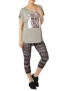 Galaxy Print Legging