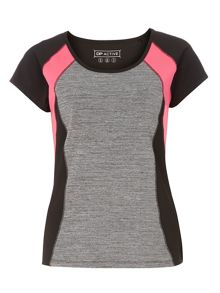 Dorothy Perkins Panel Performance Tee
