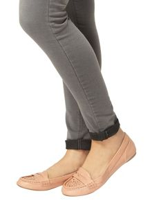 Dorothy Perkins Lace` Punch Out Loafers