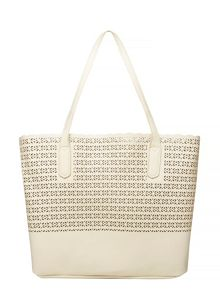 Dorothy Perkins Laser Cut Tote Bag