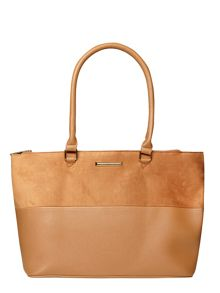 Dorothy Perkins Double Zip Tote Bag