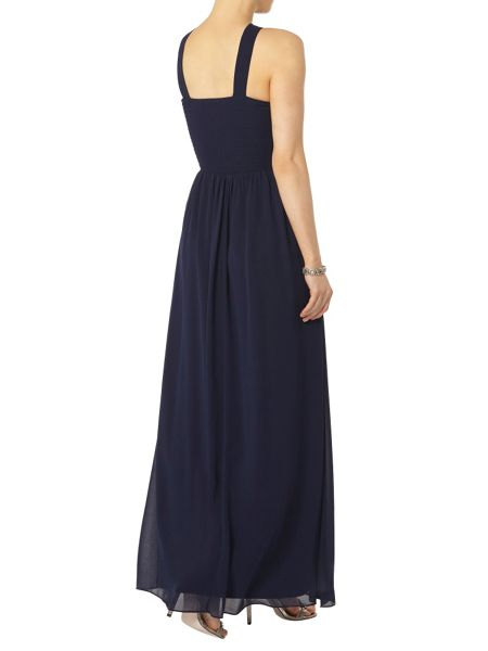 Dorothy Perkins Showcase Halter Neck Maxi Dress