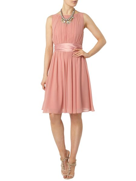 Dorothy Perkins Showcase Satin Tie Prom Dress