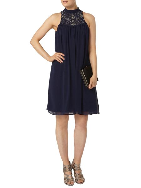 Dorothy Perkins Showcase Embellished Trapeze Dress