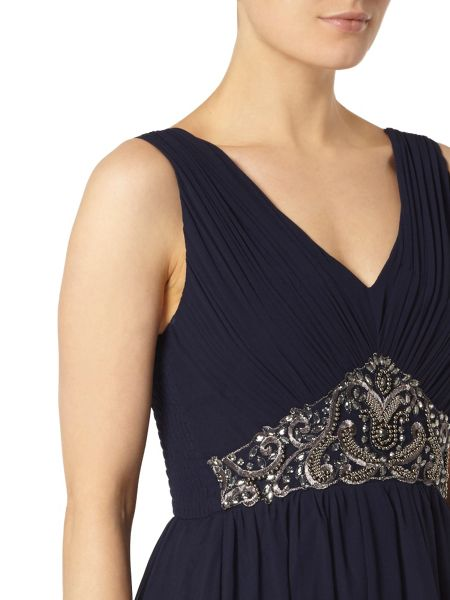 Dorothy Perkins Showcase Embellished Prom Dress