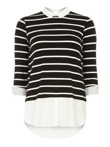 Stripe 2 In 1 Top
