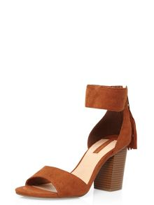 Dorothy Perkins Rolo` Tassel Zip Back Sandals