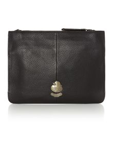 Farnham black pocket cross body bag