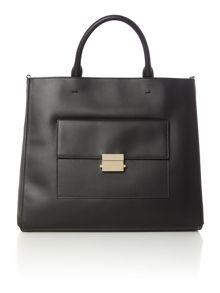 Hugo Boss Munich black large pocket tote bag