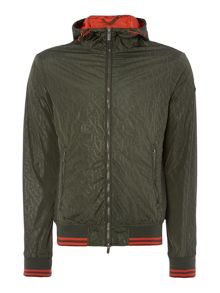 Armani Jeans All Over Print Nylon Jacket