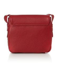 Cranleigh stirrup red small cross body bag