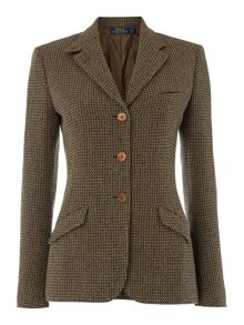 Custom tweed riding jacket