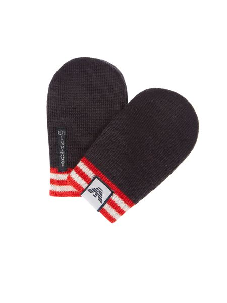 Armani Junior Boy Mittens