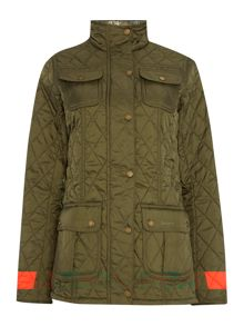 Barbour Ruskin quilted utility jacket