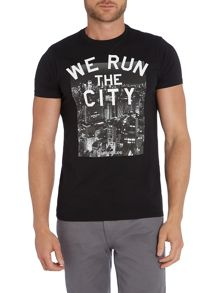 Slim fit Slogan Print T-Shirt