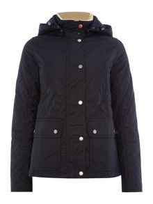 Barbour Bartlett quilted wax jacket