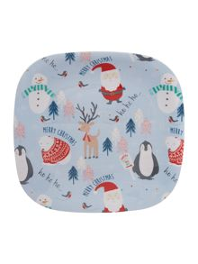 Frosty Square Plate