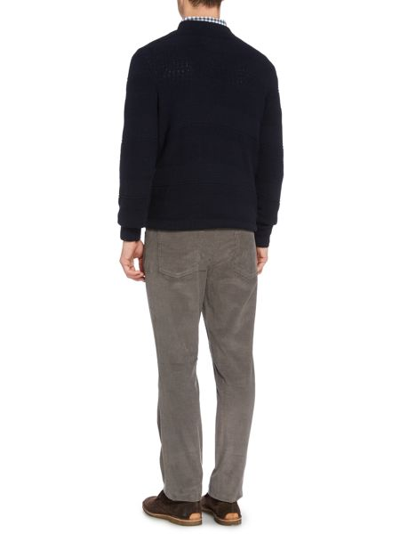 Howick Lincoln Textured Crew Neck Jumper