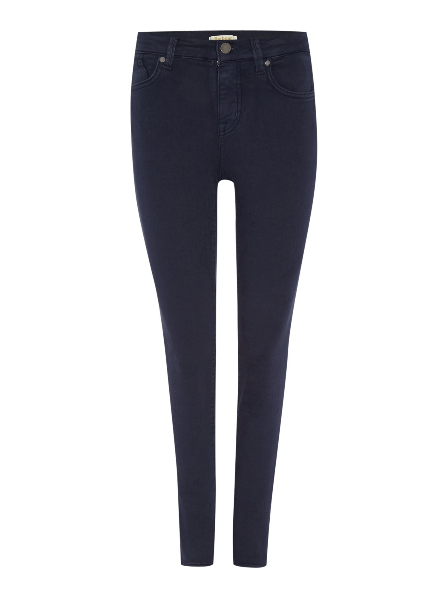 Barbour Essential Slim Trousers Navy