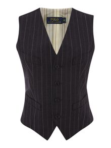 Bartly striped vest waistcoat