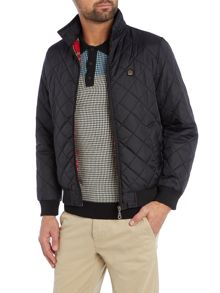 Merc Casual Quilted Full Zip Harrington Jacket