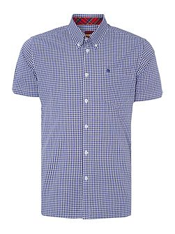 Terry Gingham Classic Collar Shirt