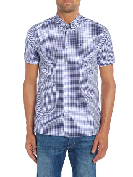 Merc Terry Gingham Classic Collar Shirt