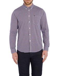 Merc Pitman Checked Classic Collar Shirt