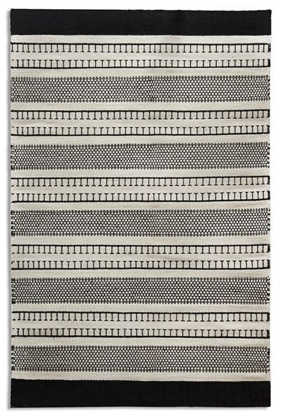 Plantation Rug Co. Belle 100% Wool Flatweave Rug - 120x170 Chainmail