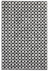 Plantation Rug Co. Geometric Black Rug Range