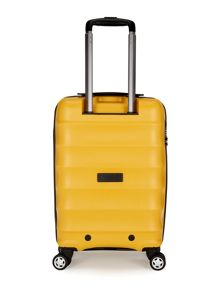 Juno cabin yellow roller suitcase