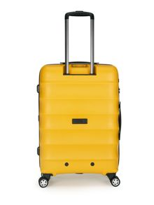 Juno medium yellow roller suitcase