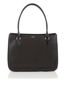 Tula Rye black cross body tote bag