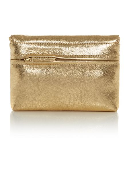 Tula Party small gold cross body bag