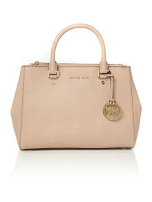 Sutton pale pink medium tote bag