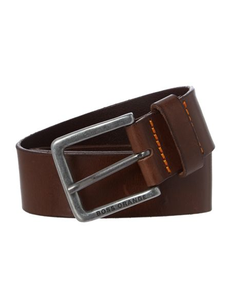 Hugo Boss Jeek Matt Leather Belt