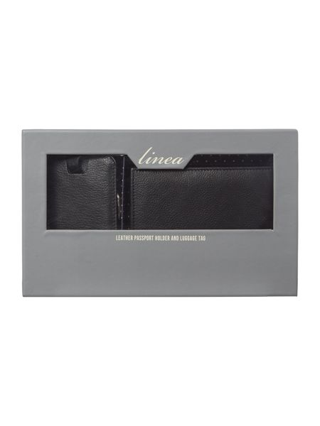 Linea Passport and Luggage Tag Gift Set